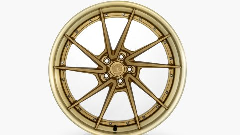 AN33 – Satin Gold / Alumi Brushed Gold Outer