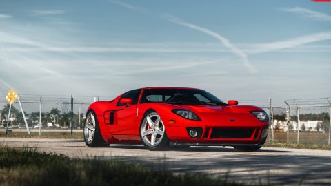 Twin Turbo Ford GT – AN35