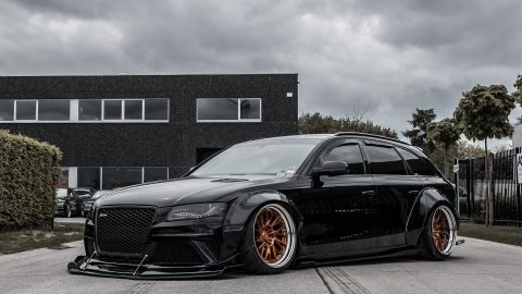 Audi S4 Widebody – Rs3 RetroSeries