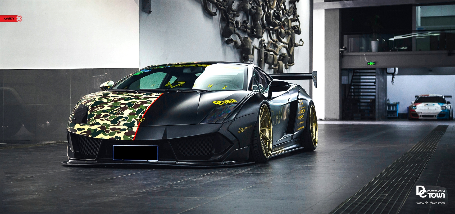 Lamborghini Gallardo LBW Widebody – AN33 SeriesTHREE