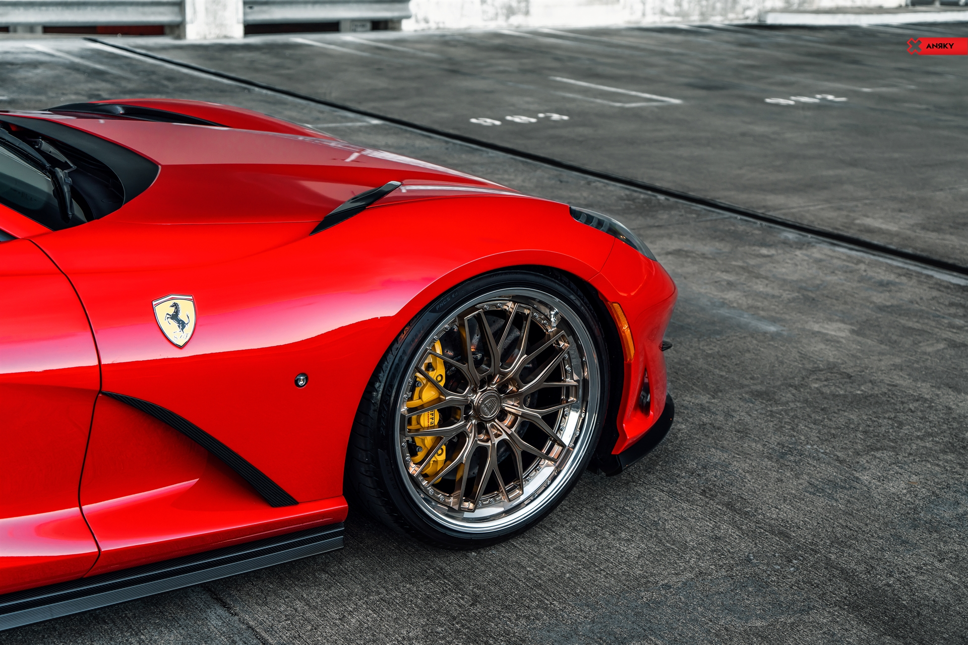 Ferrari 812 Superfast Retroseries Rs1 Anrky Wheels