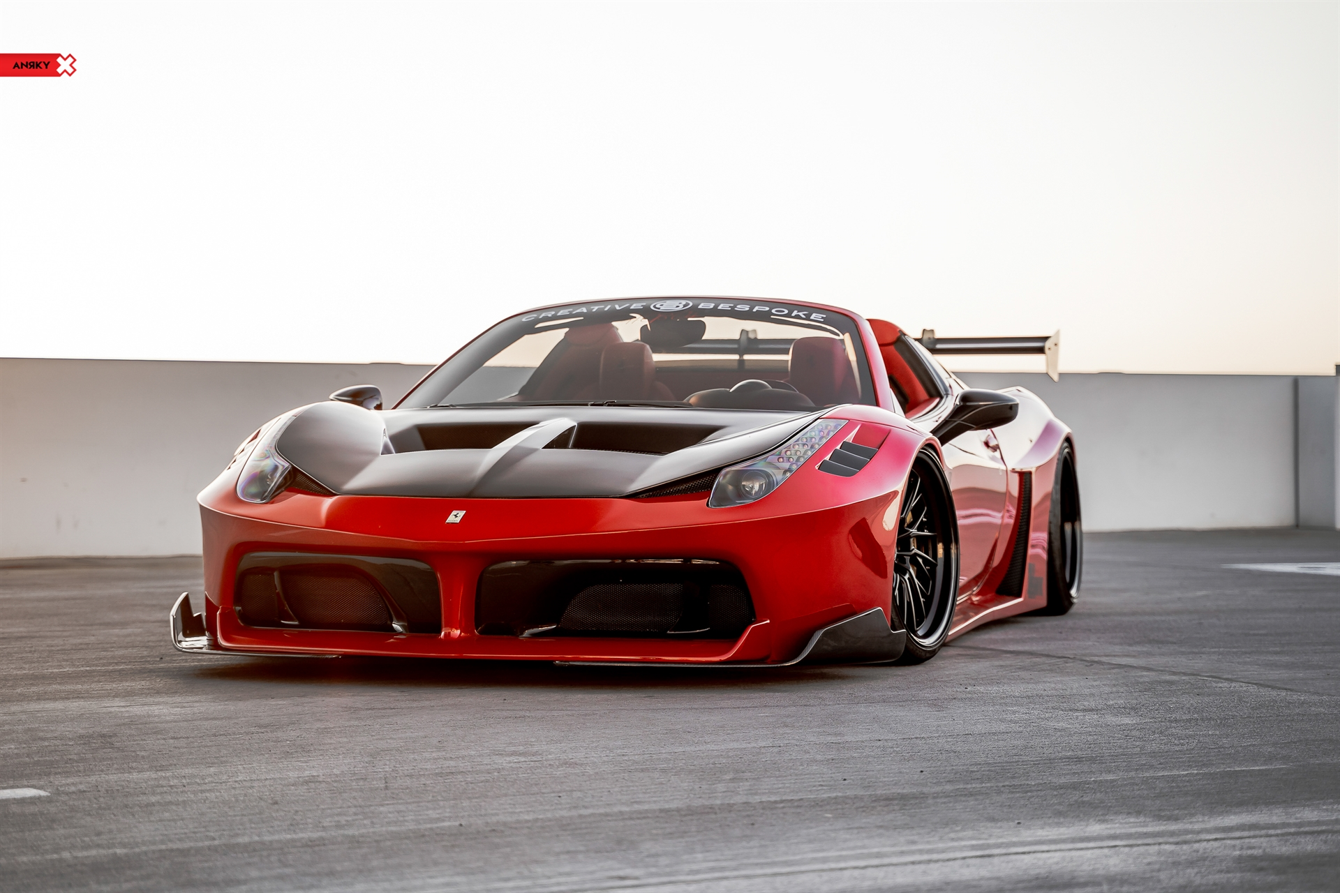 LibertyWalk Ferrari 458 Italia – RETROSeries RS3