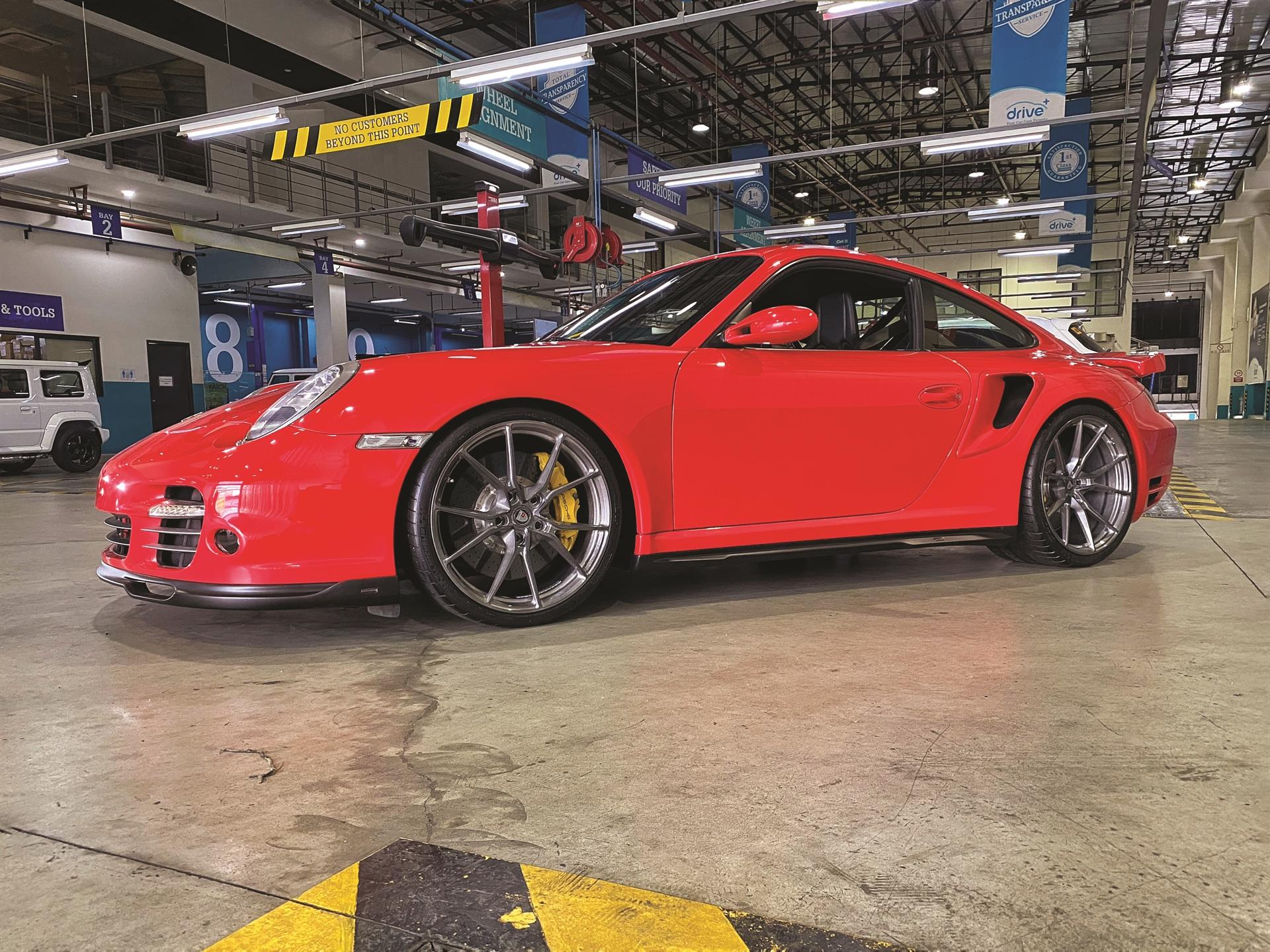Porsche 997TT – AN12 SeriesONE Monoblock