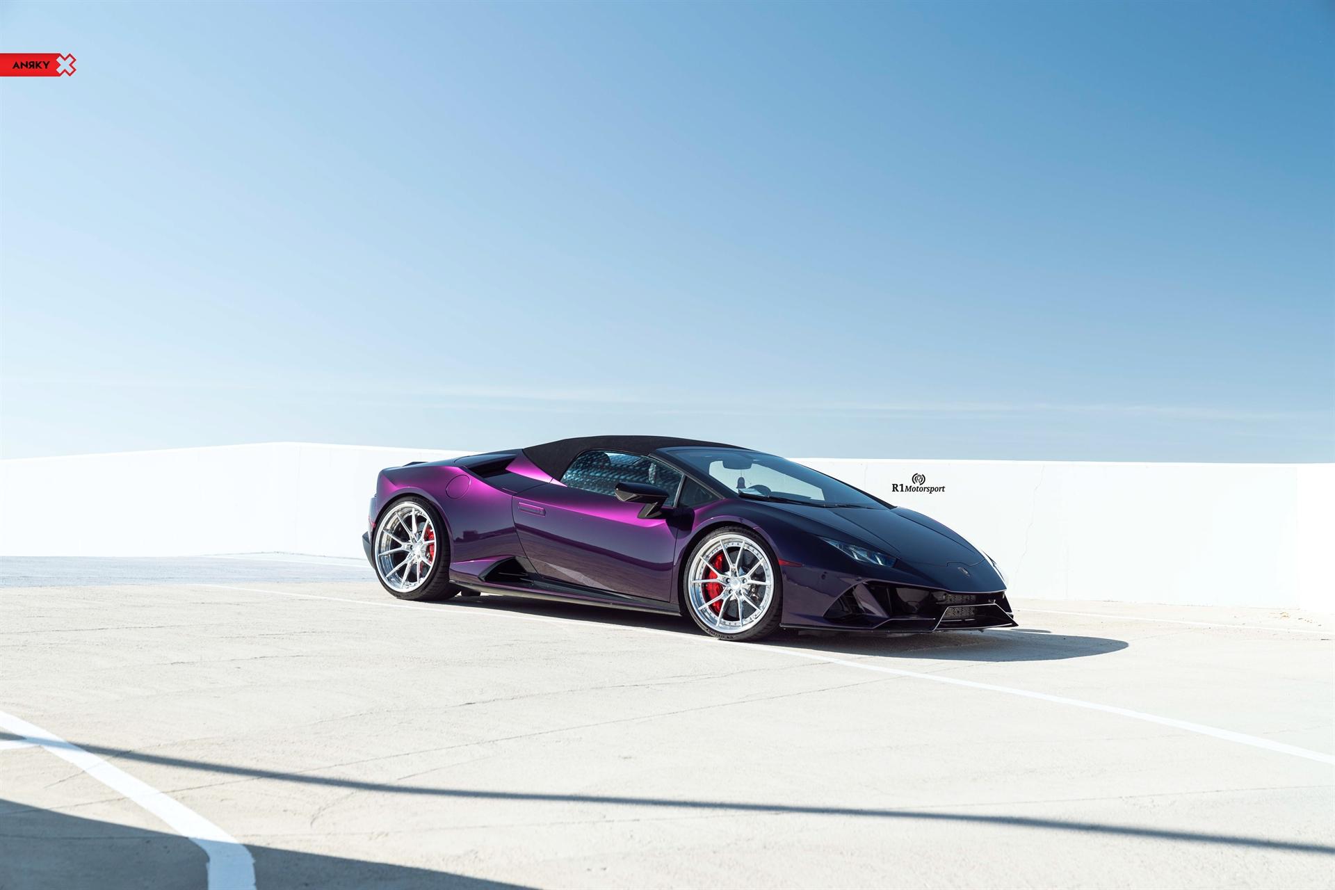 Lamborghini Huracan Evo Spyder – AN32 SeriesTHREE