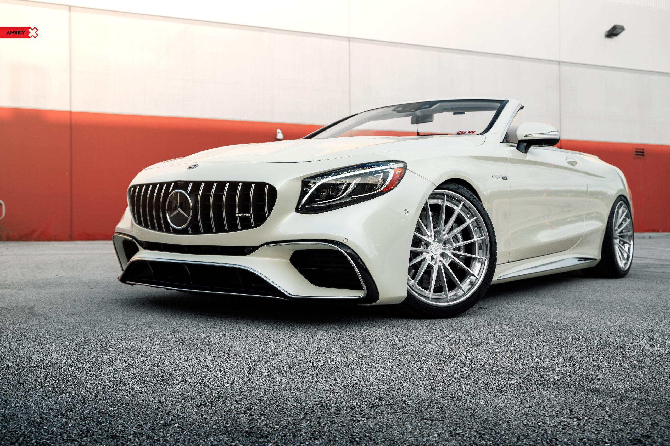 Mercedes-Benz S63 Convertible – AN39 SeriesTHREE